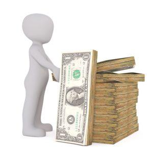 Wie wird eine Geldwaage angewendet im Test?