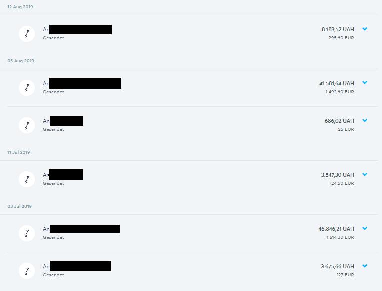TransferWise Geldüberweisungen Test