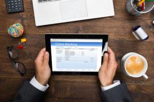 Anmeldung bei einer Online Bank